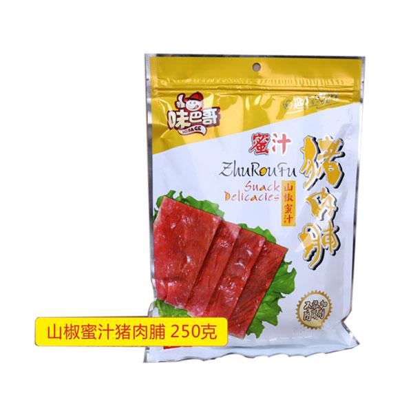 山椒蜜汁猪肉脯250克